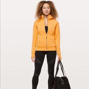Lululemon Scuba Hoodie Size 2 Yellow